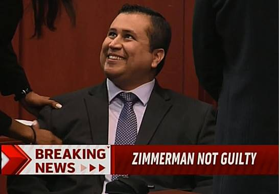 A six woman jury acquitted George Zimmerman of second degree murder in the shooting death of Trayvon Martin in a gated community in Sanford Florida photo