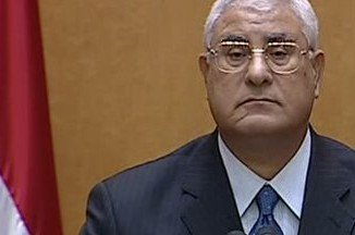 Adly Mansour, top judge of Egypt's Constitutional Court, was sworn in as interim leader