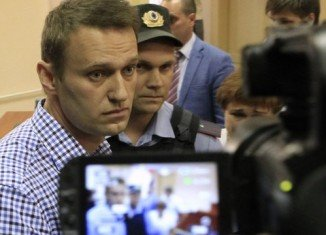 Alexei Navalny has been jailed for five years, for embezzlement from a timber firm.