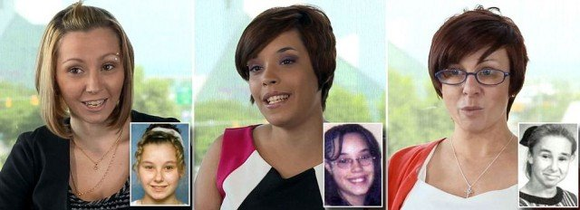 Amanda Berry Gina DeJesus and Michelle Knight appear healthy and happy as they recover from a decade in sickening captivity 640x232 photo