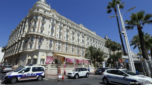 An armed man has stolen jewels worth about $53 million in the French Riviera resort of Cannes
