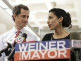 Anthony Weiner's wife, Huma Abedin, was aware of her husband's most recent indiscretions months before he decided to run for New York City mayor