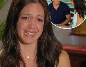 Bachelorette Desiree Hartsock was left red faced and sobbing after her favorite suitor Brooks Forester dumped her at the last hurdle