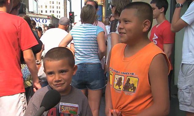 Children trying to explain the national anthem on Jimmy Kimmel  photo