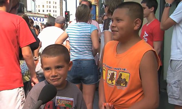 Children trying to explain the national anthem on Jimmy Kimmel  photo