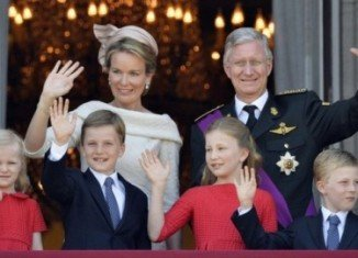 Crown Prince Philippe of Belgium has been sworn in as the new king after the emotional abdication of his father Albert II