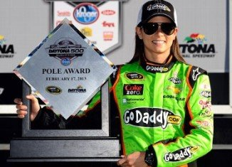 Danica Patrick is to return this weekend to Daytona 500, the track where she experienced her greatest stock-car moment