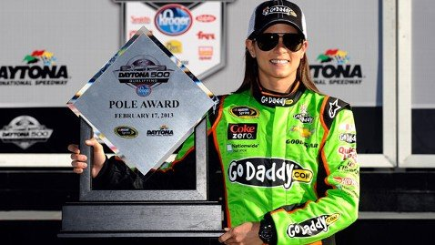 Danica Patrick is to return this weekend to Daytona 500 the track where she experienced her greatest stock car moment photo