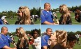 Ermon Lane crashed into FOX Sports reporter Amy Campbell while she was mid-interview