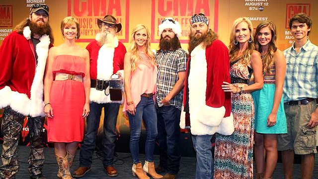 Fans of Duck Dynasty will get a special treat this holiday season when the Robertson family release their own Christmas album photo