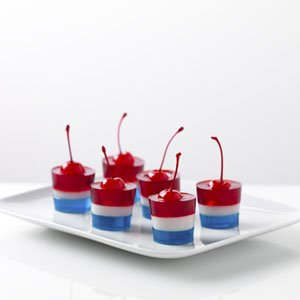 Fourth of July JELL-O Firecrackers