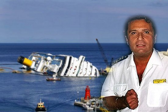 Francesco Schettino the captain of the Costa Concordia cruise ship which ran aground off Italy last year is set to go on trial photo
