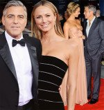 George Clooney hasn't been seen in public with Stacy Keibler for three months
