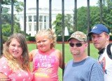Honey Boo Boo and her family travelled to Washington D.C. as they cross the country on a promotional tour for their new book