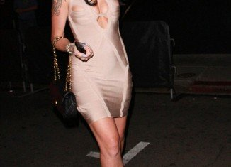 Jennifer Richardson, the woman who has been linked to Lamar Odom, has been pictured for the first time since the scandal