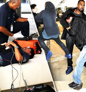 Kanye West may face a felony attempted robbery charge stemming from his Los Angeles airport altercation with a photographer photo