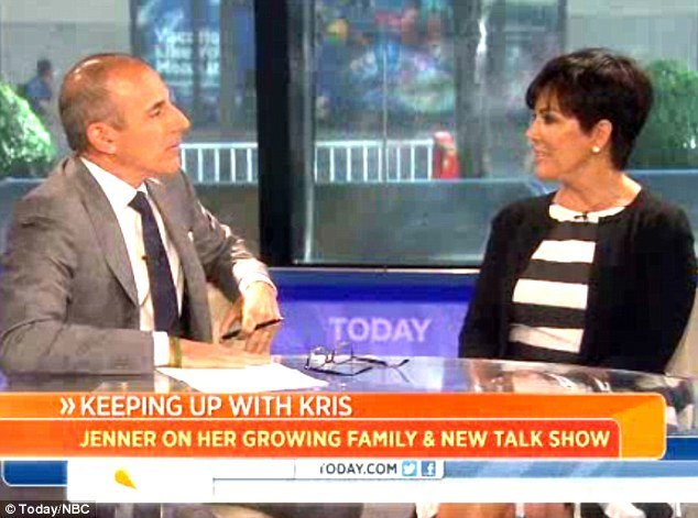 Kris Jenner hinted that either pictures of her three-week-old granddaughter North may be shown on her show or perhaps the newborn