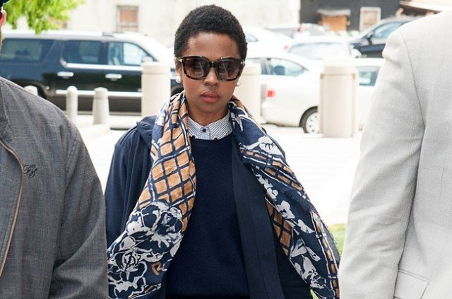 Lauryn Hill has begun a three month prison sentence in Connecticut for tax evasion 640x423 photo