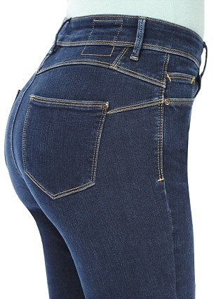 M&S Sculpt and Lift jeans use back stitching and new fabric to lift the bottom for a sculpted silhouette