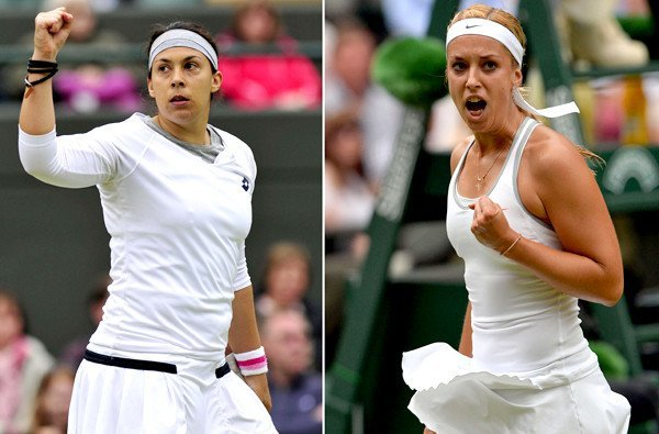 Marion Bartoli won her first Grand Slam title with a dominant victory over Sabine Lisicki in the Wimbledon final photo