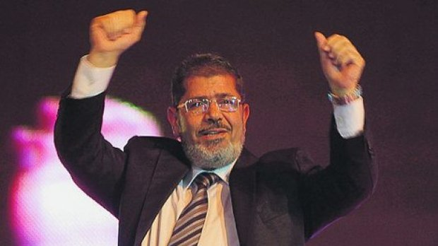 Mohamed Morsi is being held over allegations of links with Palestinian militants Hamas and plotting attacks on jails in the 2011 uprising