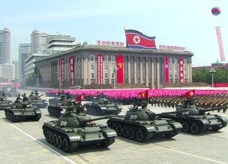 North Korea is holding a huge parade to mark the 60th anniversary of the armistice that ended the Korean War