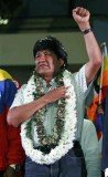 President Evo Morales has threatened to close the US emba