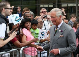 "Prince Charles and his wife Camilla are ""overjoyed"" at the arrival of his first grandchild as he went ahead with a scheduled visit to York"
