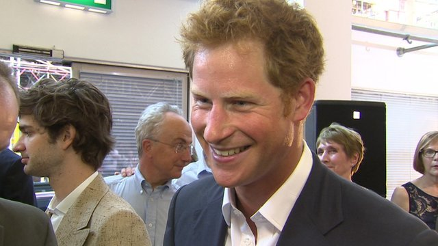 Prince Harry has talked about his duties as an uncle to his new nephew Prince George