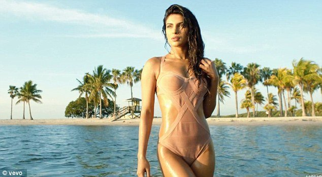 Priyanka Chopra is the star of Pitbull's music video for his latest hit, Exotic