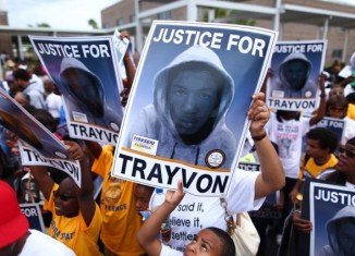 Protests are under way across the US, a week after George Zimmerman was cleared of murdering unarmed black teenager Trayvon Martin