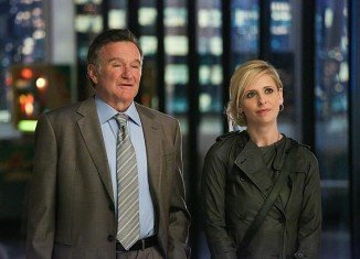 Robin Williams stars in new sitcom The Crazy Ones with Sarah Michelle Gellar