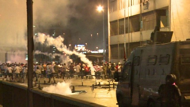 Seven Egyptian protesters have been killed in Cairo in overnight clashes between security forces and supporters of ousted President Mohamed Morsi