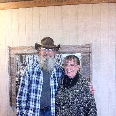 Si Robertsons wife Christine has yet to tell the media why she hasnt appeared on Duck Dynasty photo