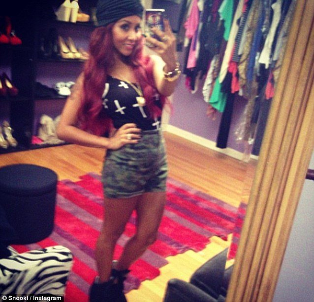 Snooki has lost a dramatic 50 lbs since giving birth to her first child Lorenzo Dominic LaValle in August last year