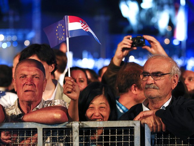 Starting with 1st of July 2013 Croatia has become the 28th member of the European Union photo