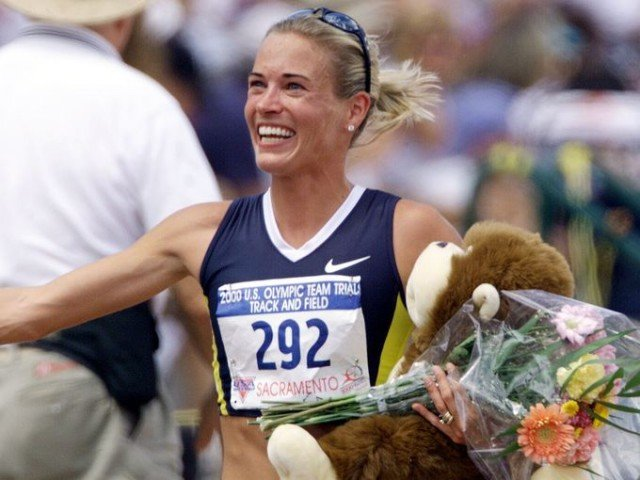 Suzy Favor Hamilton's name was removed from the award that goes to the Big Ten female athlete of the year 640x480 photo