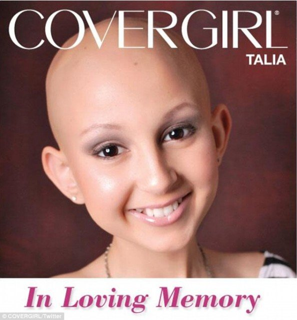 Talia Castellano was invited on the Ellen show, where she was made an honorary CoverGirl and presented with a professional shot advert