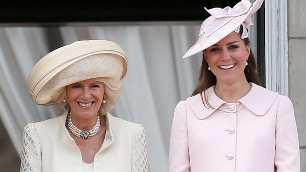 The Duchess of Cornwall has revealed the royal family hopes Kate Middleton and Prince Williams baby will be born by the end of the week photo