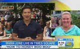 The Good Morning America crew surprised June Shannon with a taped message from Mario Lopez