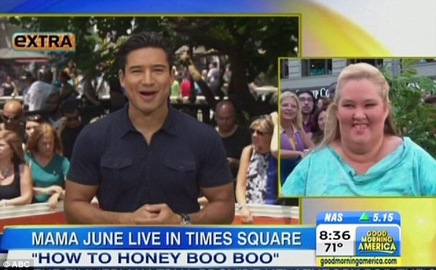 The Good Morning America crew surprised June Shannon with a taped message from Mario Lopez  photo