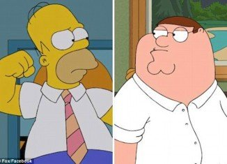 The Simpsons will meet Family Guy for a crossover episode
