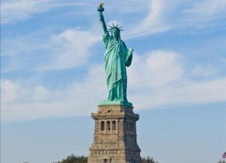 The Statue of Liberty, shut last year after Superstorm Sandy, has reopened to the public on Independence Day