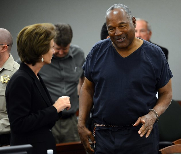 The combination of high blood pressure a vastly expanding waistline and a lack of physical activity as he serves a 33 year prison sentence have doctors concerned about OJ Simpson's health photo