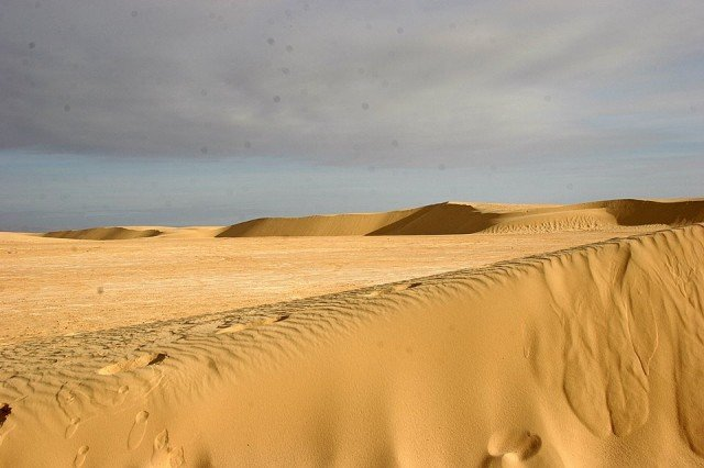 The famous Star Wars film set in the Tunisian desert is about to be buried by migrating sand dunes