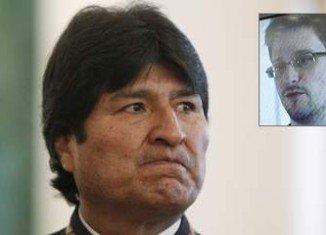 The plane of Bolivia's President Evo Morales plane had to be diverted to Austria amid suspicion that Edward Snowden was on board