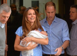 The royal baby left hospital with his parents, who revealed they had not yet chosen him a name