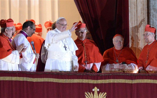 Vatican has announced it is offering indulgences to followers of Pope Francis tweets photo