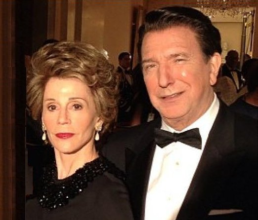 Alan Rickman as Ronald Reagan and Jane Fonda as Nancy Reagan in Lee Daniels' The Butler photo