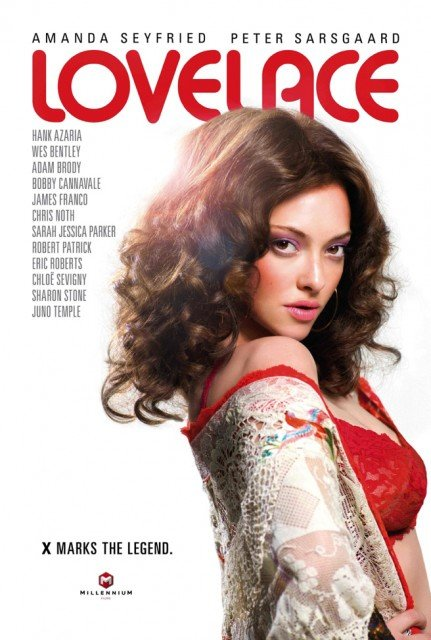 Amanda Seyfried plays Linda Lovelace in the new biopic